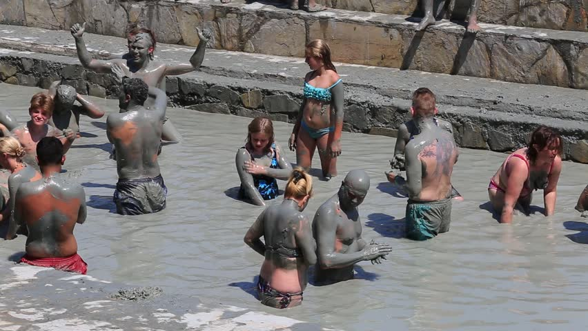 Dalyan mud baths Spa