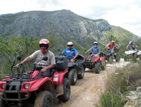 Quad Excursions Denia
