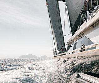 Moraira und sein legänderen Yacht Rennen