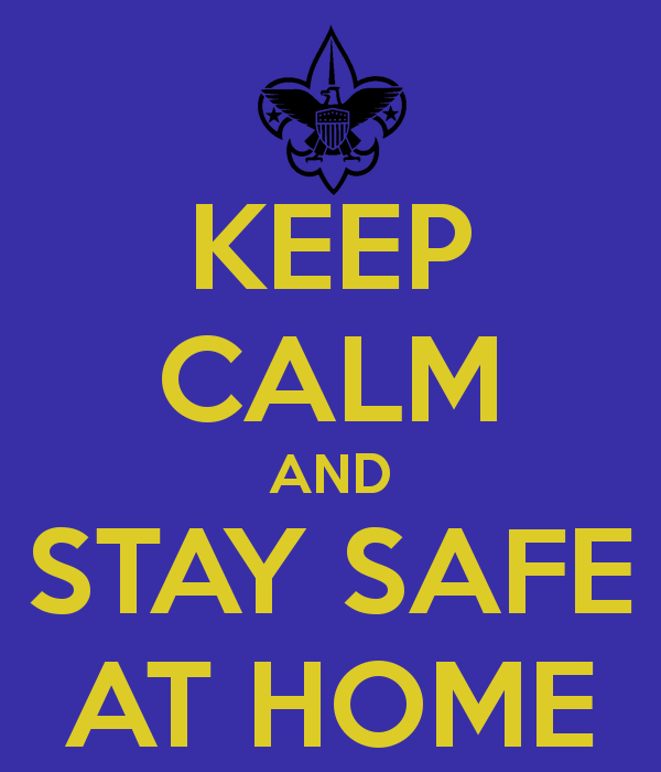 Stay at home, stay safe, we are thinking of you!