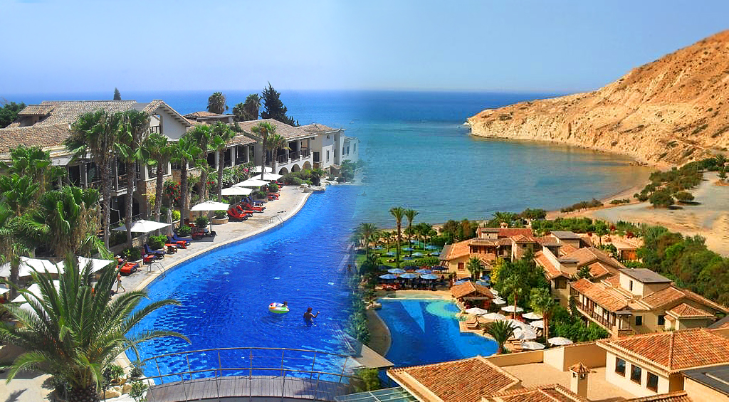 Pissouri Village and Bay