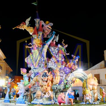 Fiestas in Denia