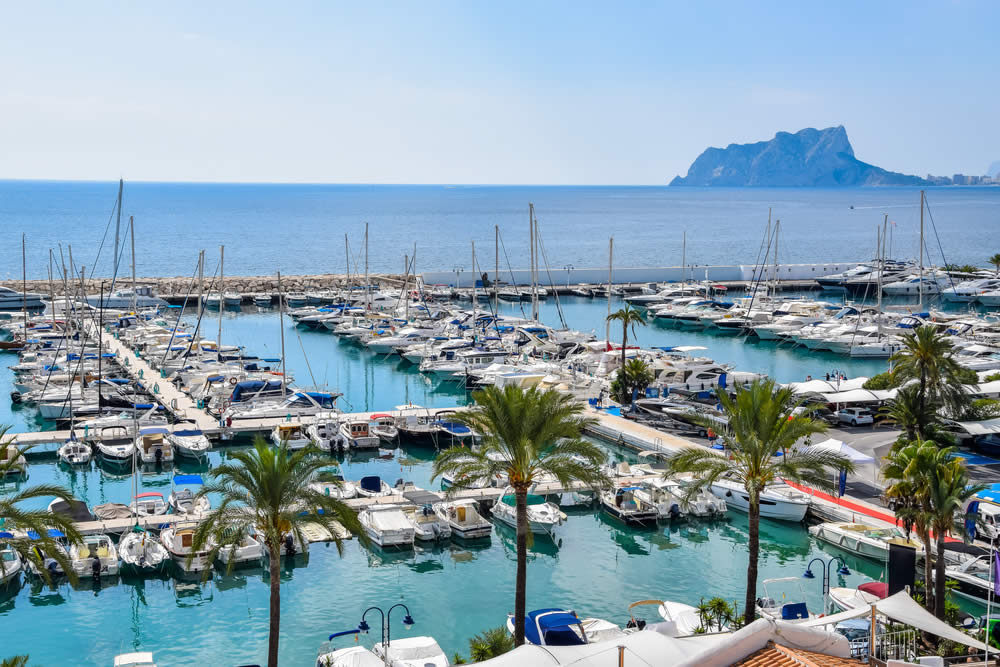 Buying Property in Moraira near the Marina
