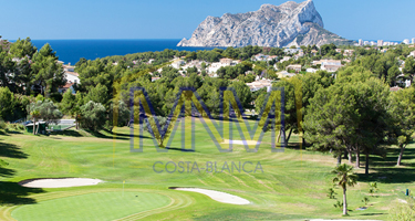 moraira golf course perfect for apartments for sale in moraira