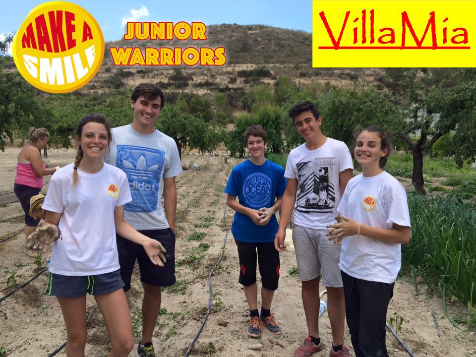 Make A Smile Junior Warriors