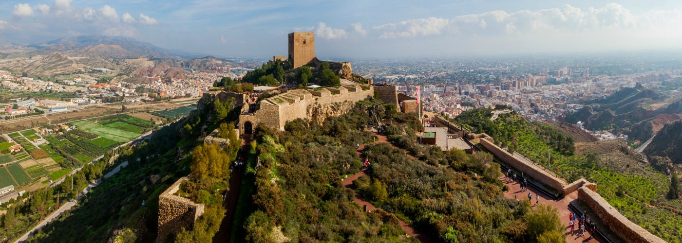 Lorca Murcia Caste Mountain